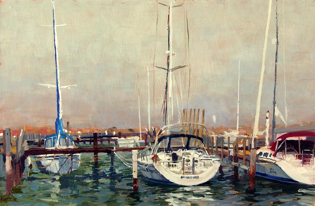 Lonely Docks