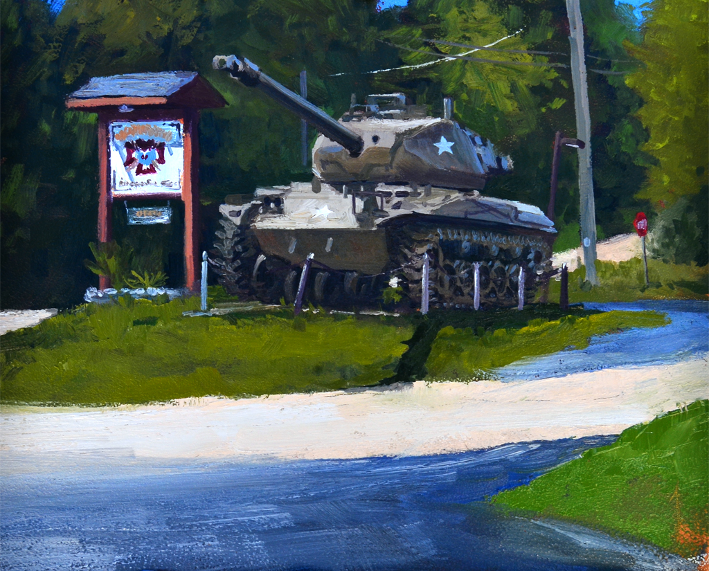 WWII Tank, VFW Post 5716 - New Berlin, WI