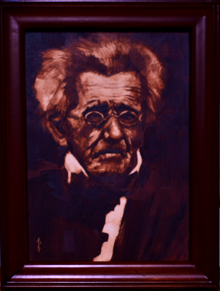 Andrew Jackson at age 73