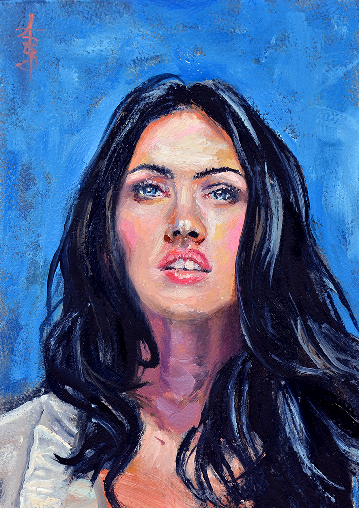 Portrait: Megan Fox