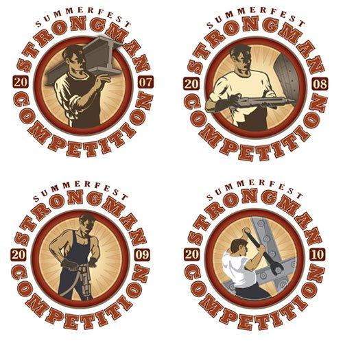 Pro-Strongman T-shirt Designs
