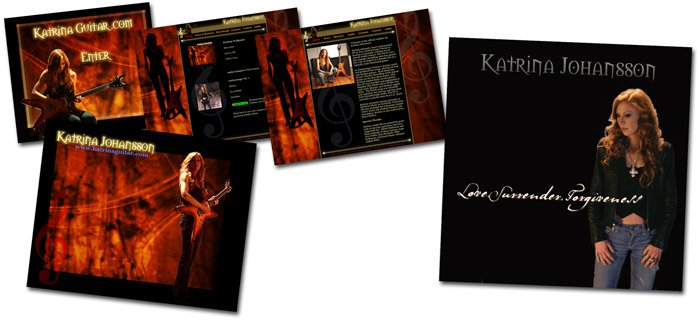 Katrina Johansson Promotional Website