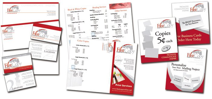Fast Copy Promotional Materials