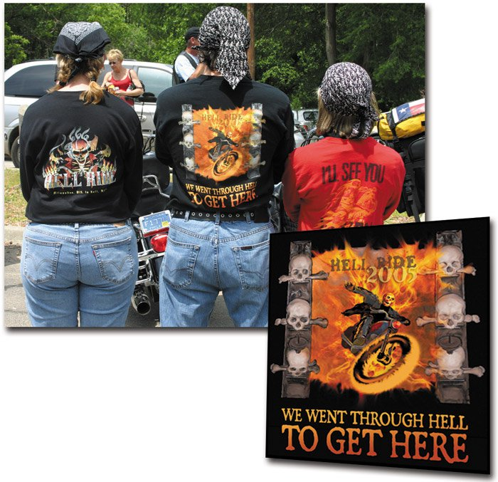 Hell Ride T-shirt Design
