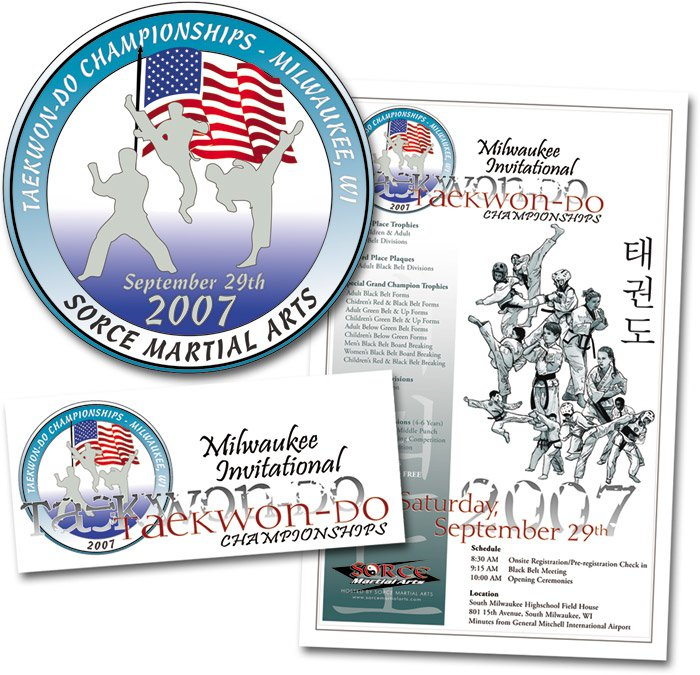 2007 Milwaukee Invitational Taekwon-Do Championships Tournament Designs