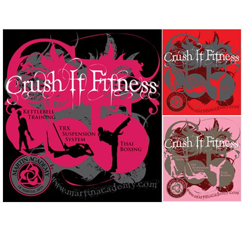 Crush-it Fitness T-shirt Design