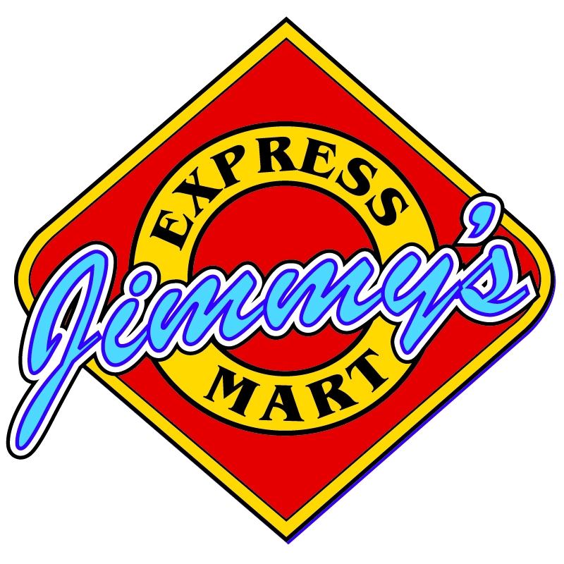 Jimmy's Express Mart Sign Design