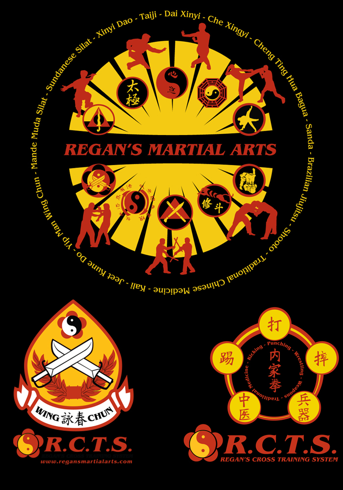 Regan's Martial Arts T-shirt Designs