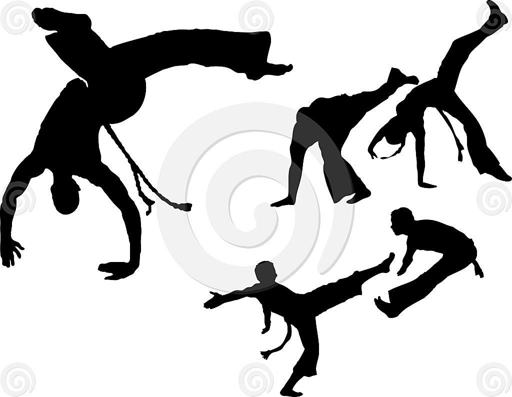 Stock Illustration: Capoeira Set 1