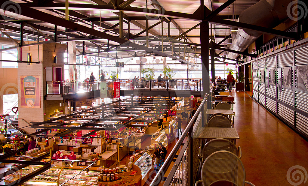 Stock Photo: Milwaukee Public Market