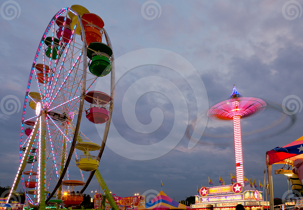 Stock Photo: Carnival Lights