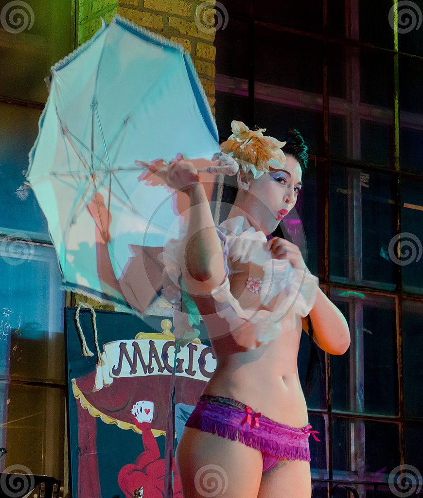 Stock Photo: Burlesque Dancer 3