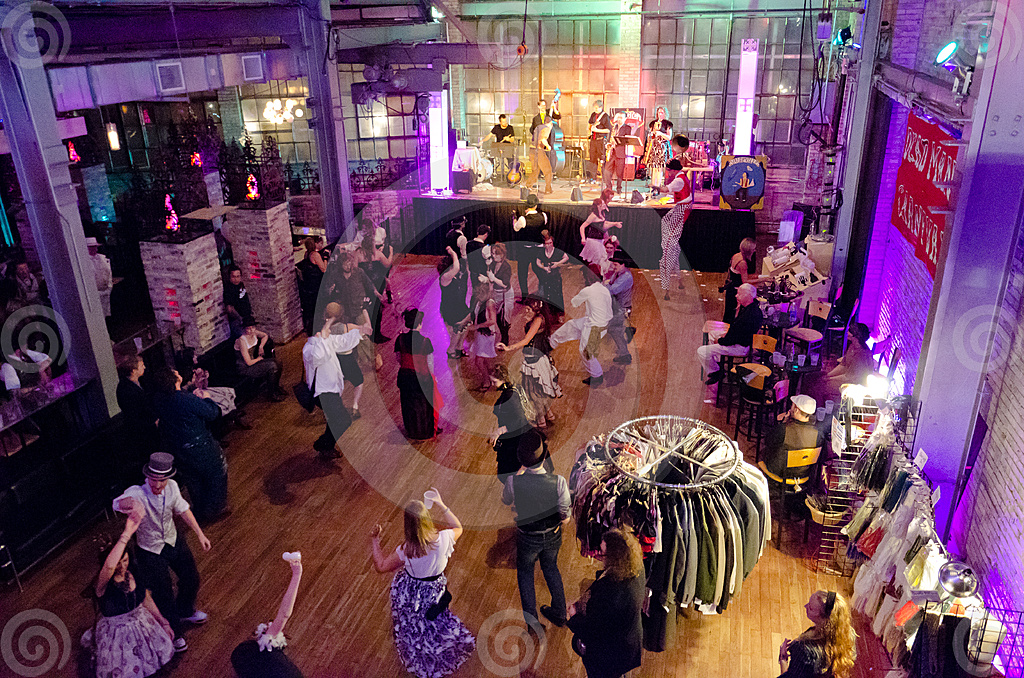 Stock Photo: Steampunk Ball