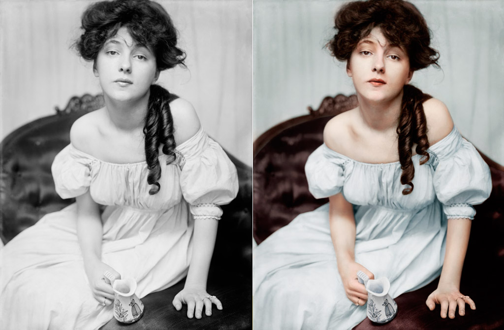 Colorized Portrait