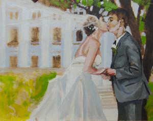 Bergman Commissioned Wedding Portrait - Session 2