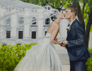 Bergman Commissioned Wedding Portrait - Session 6