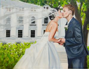 Bergman Commissioned Wedding Portrait - Sessions 7-9