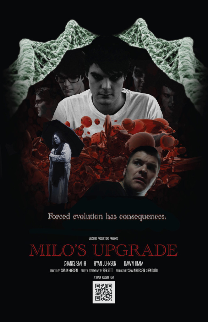 Milo's Upgrade Cinematic Promotional Poster
