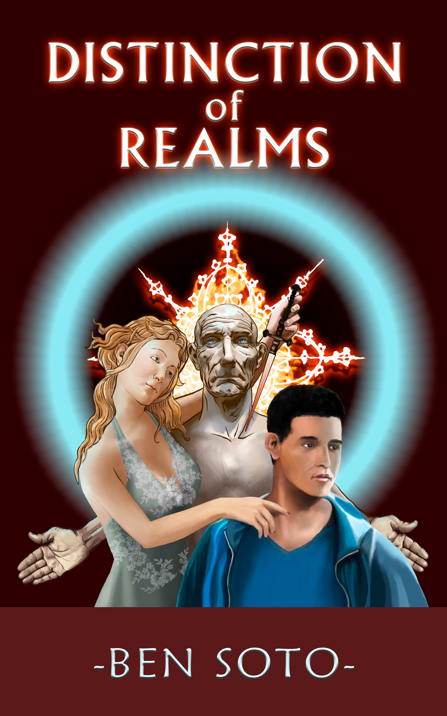 Distinction of Realms - Book Cover Illustration
