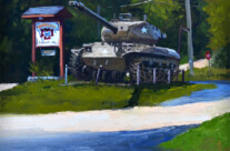WWII Tank, VFW Post 5716 – New Berlin, WI – SOLD