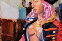 Portrait: Pirate Wench Statue – Bristol Renaissance Faire – SOLD