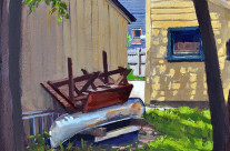 The Broken Canoe – SOLD