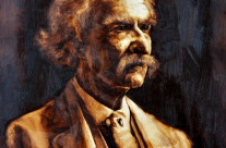 Past Commission: Mark Twain Portrait