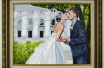 Past Commission: Bergman Commission, Wedding Portrait (Gift) – SOLD