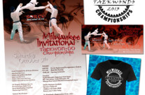 Design: 2013 Milwaukee Invitational Taekwon-Do Championships Designs