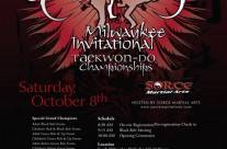 Design: 2011 Milwaukee Invitational Taekwon-Do Tournament Designs