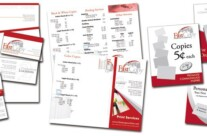 Design: Promotional Materials for Fast Copy Print Shop