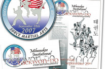Design: 2007 Milwaukee Invitational Taekwon-Do Championships Designs