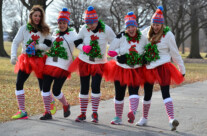 Sports Photography – Ugly Sweater Run Milwaukee