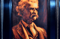 Portrait: Mark Twain – SOLD