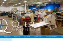 Web Design – Quest Graphics of Waukesha, WI