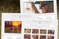 Web Design: TomNachreiner.com Website