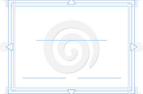 Stock Illustration: Certificate Border Theme 5