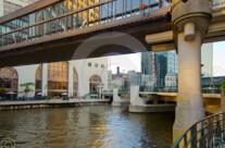 Stock Photo: River Skywalk